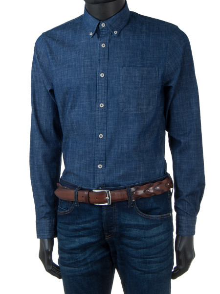 Denim Stretch Shirt