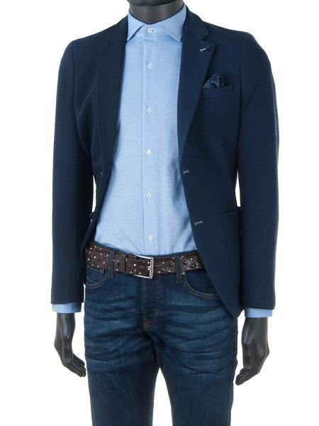 Sky Blue Cotton Jersey Shirt