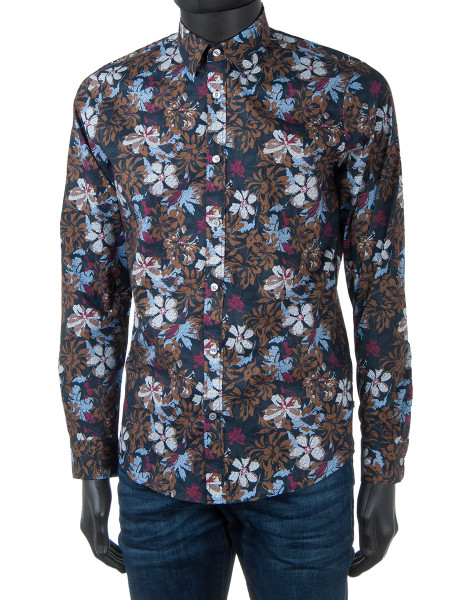 Big Flower Print Shirt
