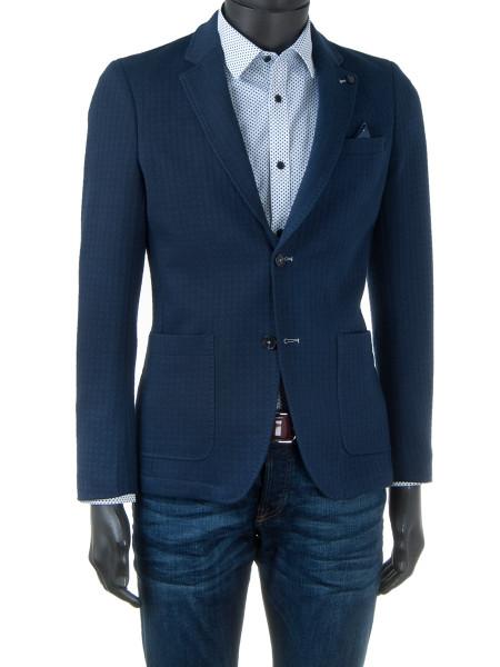 Blue Jersey Blazer