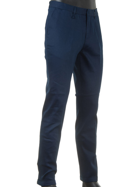 Indigo Stretch Chinos