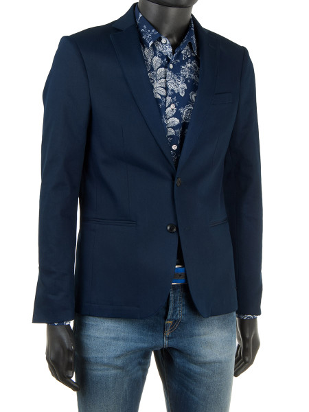Indigo Stretch Blazer