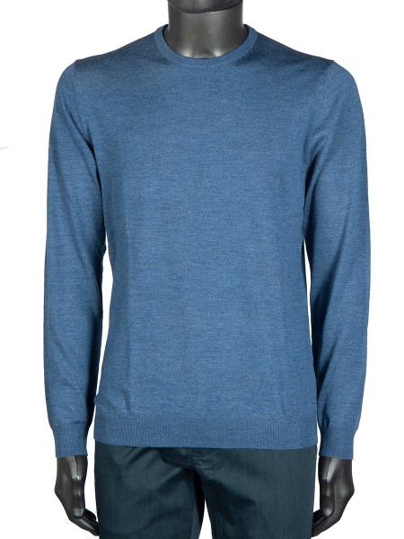 Light Blue Crew Neck Pullover
