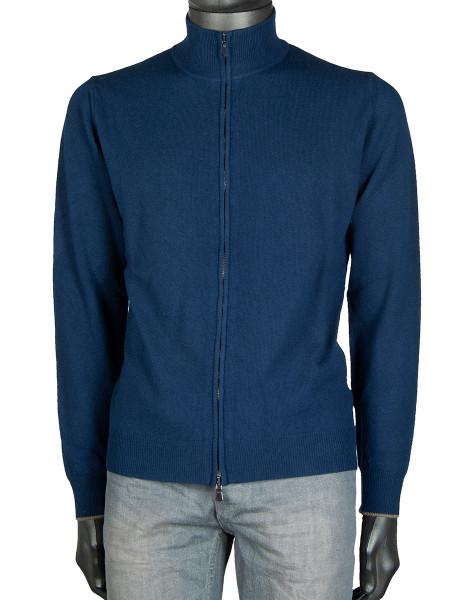 Ink Blue Cashmere Wool Jacket