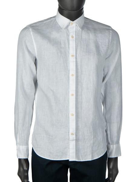 White Washed Linen Shirt