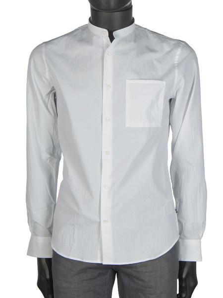 White Seersucker Shirt