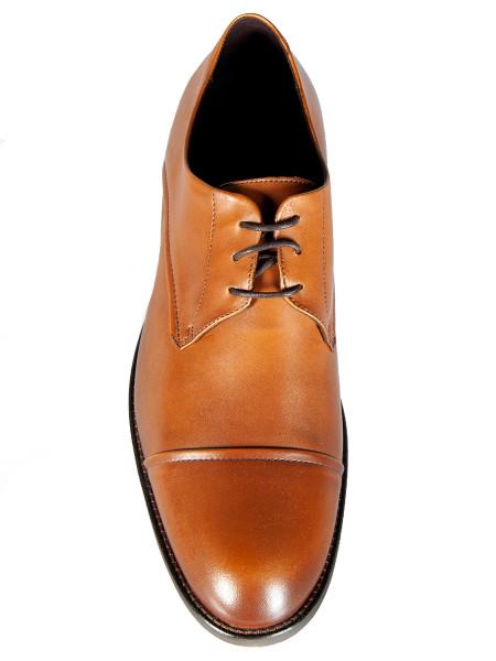 Tan Leather Derby