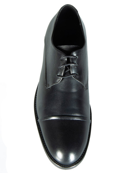 Black Leather Derby