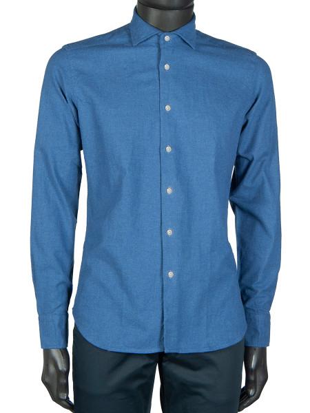 Sky Brushed Cotton Shirt