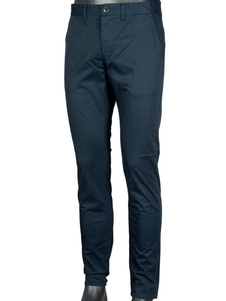 Navy Stretched Chino