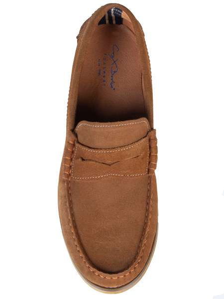 Tan Suede Loafer