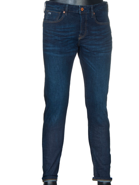 Deep Indigo Blue Jeans