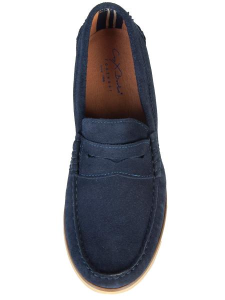 Navy Blue Loafer