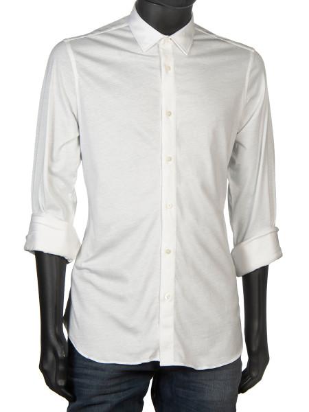 Cotton Jersey Shirt White