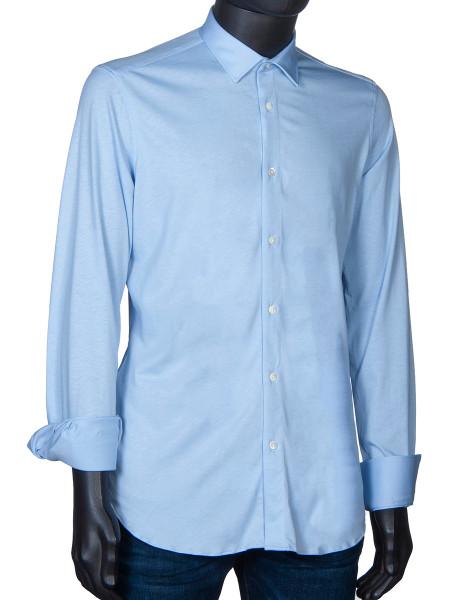 Cotton Jersey Shirt Sky