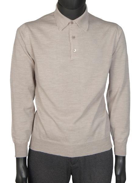 Stone Pure Marino Polo Shirt
