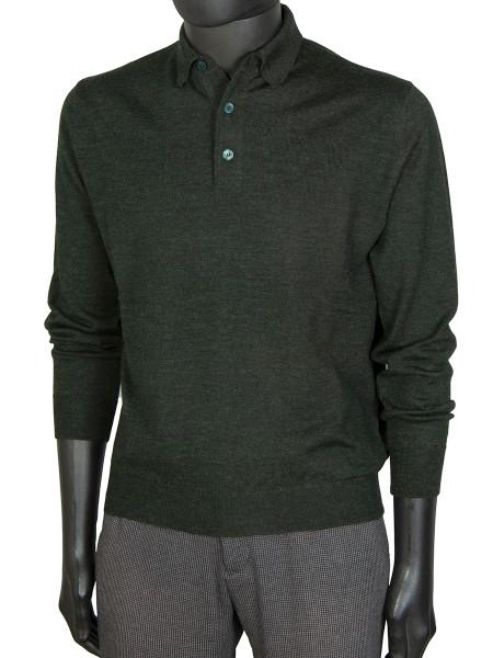 Green Pure Marino Polo Shirt