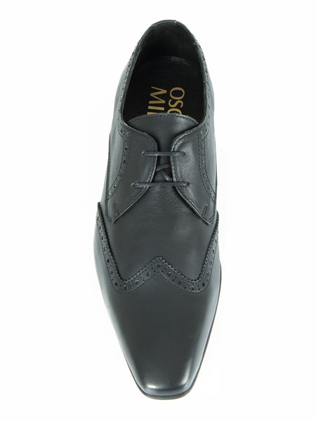 Matt Black Brogue