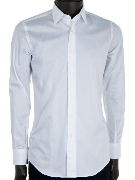 White Fine Cotton Shirt