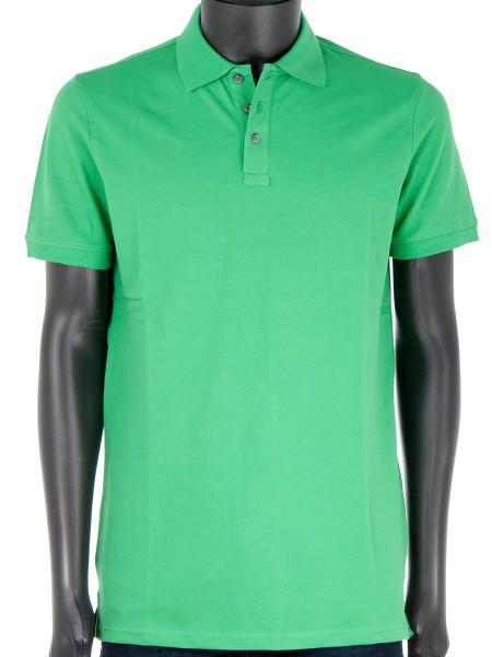 Green Cotton Polo