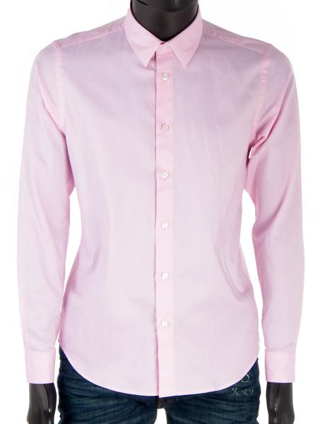 Pink Poplin Cotton Shirt