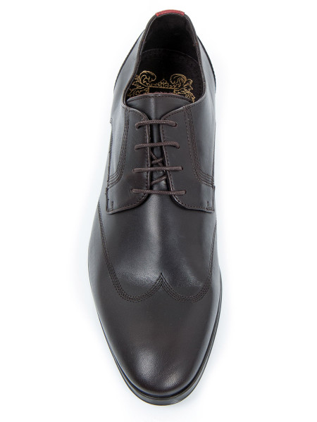 Dark Brown Leather Shoe