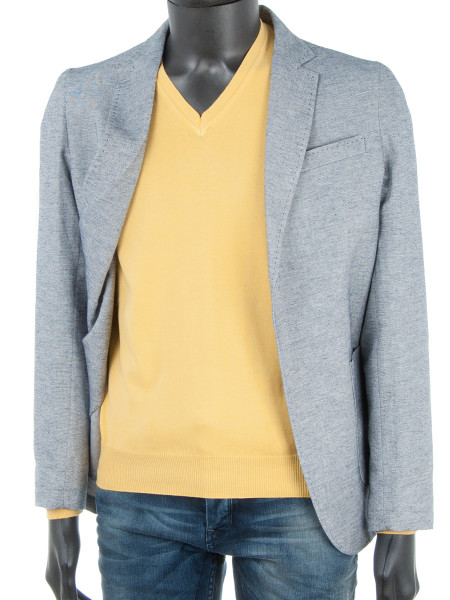 Bright Yellow V-Neck Pullover