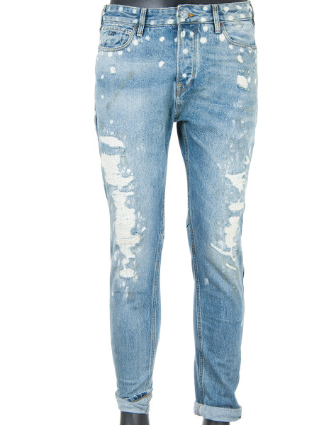 Loose Fit Rip & Repair Jeans
