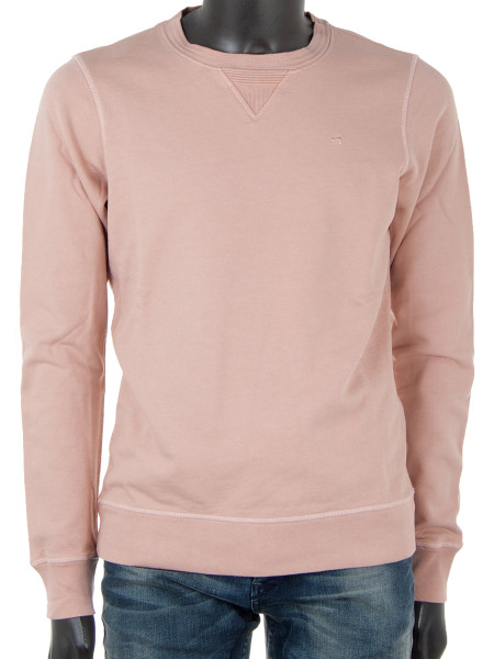 Pink Garment Dyed Sweater