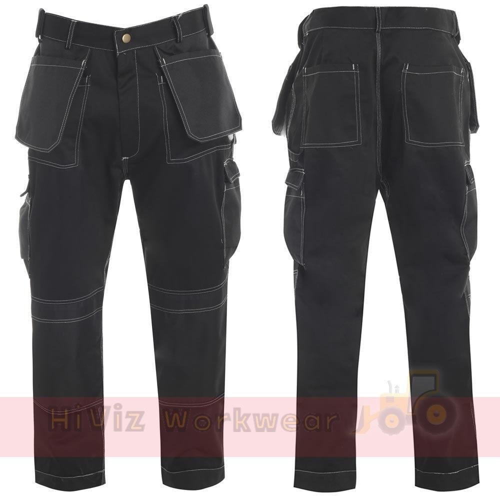 Mens Combat Workwear Blue Castle Action Trousers