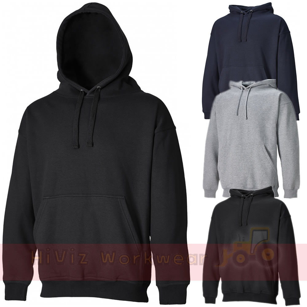 XXL SH11300 Hoodie sweatshirt Dickies Hoody Hooded Plain Sweat shirt Black M