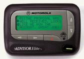 Motorola Advisor Elite Alpa Numeric pager