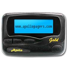 Apollo Gold Alpha Numeric Service. Available with pager service from Metrotel
