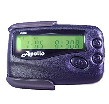 Apollo numeric pager. Pager with pager plan.
