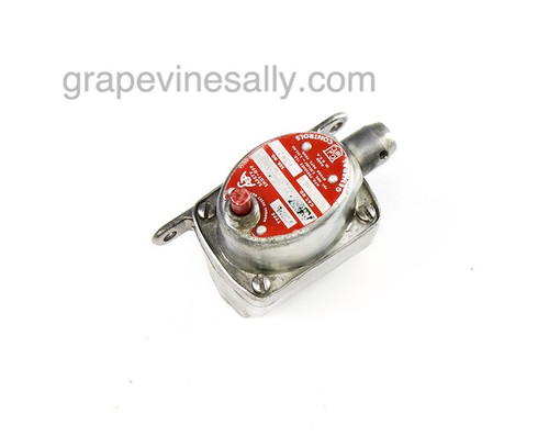 "This is a working USED General Controls Single Terminal MR-2 Safety Valve. This safety valve has been tested and is in working condition. GAS CONNECTION - Inlet/Outlet - 7/16"" compression connections.   We recommend you have a certified professional or company with experience working with vintage stove gas related products inspect and install this part. Please note, there are no refunds or exchanges on used safety valves.  We have most styles of Robertshaw Model BJ Thermostats and Safety Valves that are used with the vintage OK&M, Wedgewood and other mid-century stoves IN STOCK NOW and ready to install."