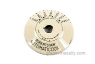 "1920's Original Robertshaw AUTOMATICOOK Vintage Antique Stove Regulator Oven Dial. The dial is porcelain enameled, it is in very nice condition. This is a very hard to find part.  MEASUREMENT: Outer Diameter 2-1/8""   /    Inner Diameter 5/16"""