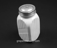"Tall White Milk Glass Vintage Non Labeled SHAKER. Use for flour, sugar, salt, pepper, or ??? We have 8 in stock at the time of this listing. No chips or cracks, very nice used condition.  MEASUREMENTS: Each Shaker - Height 5.0"""" / Width 2-1/2"" / Depth 2-1/2"""