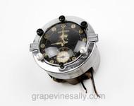 Original 1930's Vintage Telechron  Clock with Attached Greyson Gas Valve - Clock WORKS!