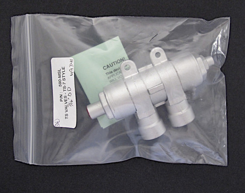 Vintage Gas Stove Factory Re-Built Robertshaw Grayson TS-7 Safety Valve with Warranty. This safety valve is guaranteed to work like a new. 1 Year Warranty  GAS CONNECTION - Inlet/Outlet - 7/16 Tube