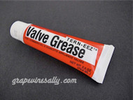 Use what the Pro's use TERN-EEZ Higher Temperature Valve Grease. Used by most professionals working with, servicing & restoring vintage gas stoves. If your valves are sticking and are becoming hard to turn, this is what you need. When using valve grease, use very sparingly. One tube will easily last a lifetime used within normal residential applications. TURN-EEZ Valve Grease has been cycled 5000 times at both room temperature and 250 degrees. It is specifically designed for commercial and residential stove applications.