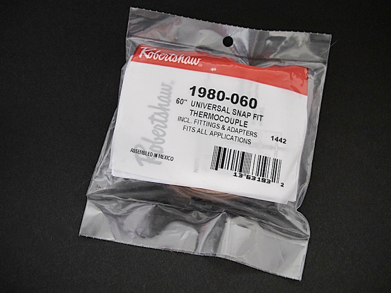 """NEW IN BAG 36/"""" Robertshaw THERMOCOUPLE Vintage Stove Parts"""