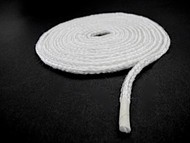 "Rope seals serve as a heat barrier on oven doors, oven door windows, furnaces, duct work. Flexible and compressible, fiberglass seals conform to uneven surfaces. They resist bleach, solvents, and most acids. Tightly Braided, more durable than the loosely knitted seals. Maximum temperature is 1000° F. 3/16"" Round / Color - White FREE SHIPPING"