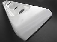 Western Holly Vintage Gas Stove White Porcelain Enamel Control Knob Panel