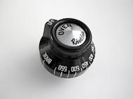 Robertshaw Vintage Stove Oven Gas Control Knob - Black