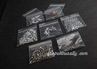 """FREE SHIPPING. These will prove to be an incredible time saver. If you are restoring a vintage O'Keefe & Merritt stove, this is a complete set of your main primary screws and nuts required to complete a 'ground up' from frame restoration for all vintage OK&M stoves up to 39"""". These are all new, they are exact replicas of those fasteners used in the 40's and 50's on the O'keefe & Merritt stove. The slotted truss sheet metal screws are stainless steel, the rivets are brass. Although the Phillips screw was invented in the 30's, vintage stove screws were all slotted. This set is for those customers interested in keeping their restoration as original as possible. These are the same fasteners we use on our restorations.   The Set Includes:  45 Stotted Truss Screw Sheet Metal / Stainless Steel  55 Slotted Truss Screw 1/2""""  20 Slotted Truss Screw 3/8""""  8 Pan Slot Screw 3/8""""  8 Pan Slot Screw 5/8""""  75 Square Nuts / Fit Truss & Pan Screws  8 Slotted Fillister Screws 5/8"""" / Stove Top Burner Screws  4 Rivets 1/4"""" / Attach Pull to Drip Trays  4 Rivets 7/8"""" Oven Doors (specific models)"""