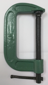 """4"""" C-Clamps (Green)"""