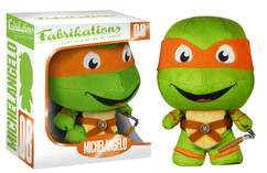 Michaelangelo TMNT - Teenage Mutant Ninja Turtles FUNKO Fabrikations Plush Figure