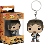 Daryl Dixon Pocket Pop Keychain - The Walking Dead - POP! Television Vinyl Figure