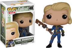 Fallout - Lone Wanderer Female Pop! Games Vinyl Figure