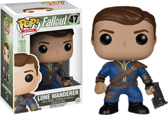 Fallout - Lone Wanderer Male Pop! Games Vinyl Figure